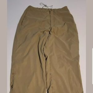 Nike Mens Polyester Hiking Pants Med water proof